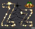 Letter Z van sterren