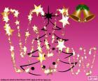 Letter W-Kerstmis