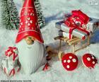 Kerstman, kerst ornament