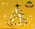 Christmas letter M