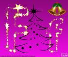 Letter F voor Kerstmis