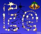 Kerst met de letter E