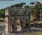 Boog van Constantijn, Rome