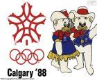 Olympische Winterspelen van 1988 die in Calgary