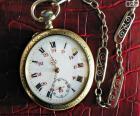 De zak horloge werd uitgevonden in Frankrijk in de 15e eeuw