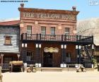 puzzel Westerse saloon