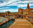 Plaza van Spanje, Sevilla, Spanje