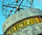 De klok van de wereld, Berlin, Duitsland