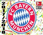 Bayern München, Bundesliga 2017-2018