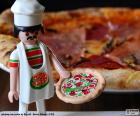 puzzel Playmobil pizza