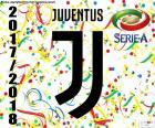 De kampioen van Juventus Turijn van Serie A 2017-2018, de zevende opeenvolgende scudetto