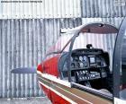 Besturingselementen van een lichte vliegtuigen