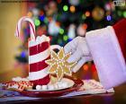 Santa Claus en snoep