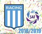 Racing Club, kampioen 2018-2019