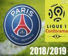 Paris Saint-Germain FC kampioen van de Ligue 1 seizoen 2018-2019