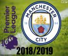 puzzel Manchester City, kampioen 2018-19