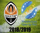 puzzel Shaktar Donetsk, 2018-2019 kampioen