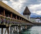 puzzel Kapelbrug, Zwitserland