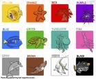 puzzel Kleuren in het Engels