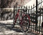 puzzel Rode fiets