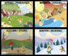 De seizoenen van het jaar