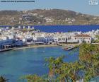 Mykonos-stad, Griekenland