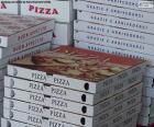 Dozen voor pizza's thuis