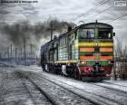 puzzel Diesel locomotief
