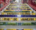 Trap van Selarón, Brazilië