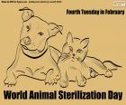Werelddieren sterilisatiedag