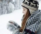 Warme drank voor koude