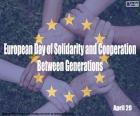 Europese Dag van solidariteit en samenwerking tussen generaties