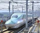 De kogeltrein van Shinkansen, Japan