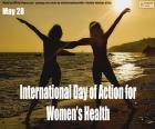 Internationale Actiedag voor de gezondheid van vrouwen