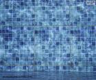 puzzel De bodem van een zwembad