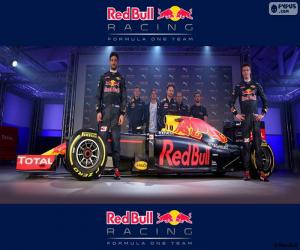 puzzel Red Bull Racing 2016