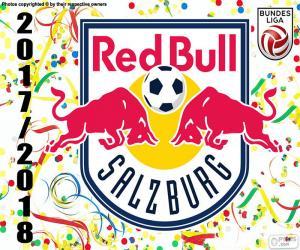 puzzel Red Bull Salzburg, Bundesliga 2017-18