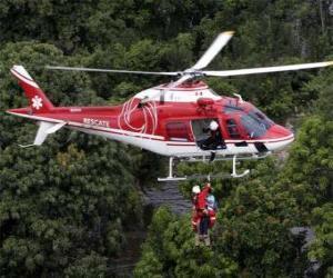puzzel Reddingshelikopter