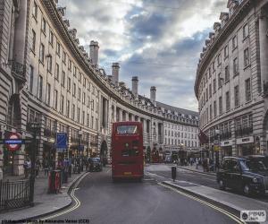 puzzel Regent Street, Londen