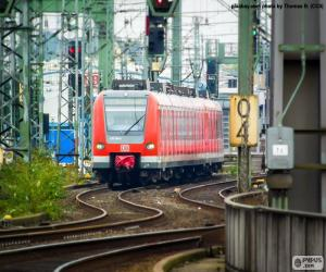 puzzel Regionale trein