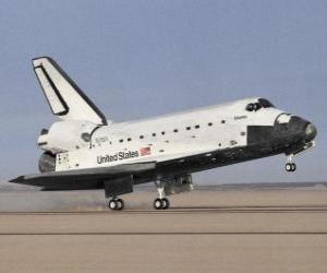 puzzel Rekening land Space Shuttle - Space shuttle