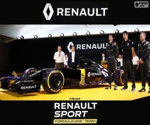 puzzel Renault Sport F1 2016