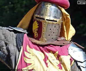 puzzel Ridder helm