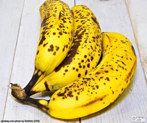 puzzel Rijpe bananen