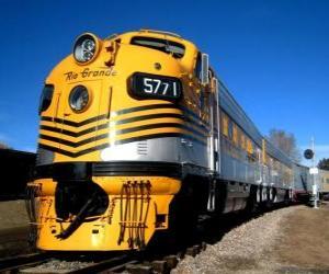 puzzel Rio Grande Railroad