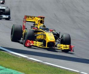 puzzel Robert Kubica - Renault - Interlagos 2010