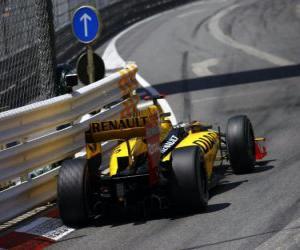 puzzel Robert Kubica - Renault - Monte-Carlo 2010