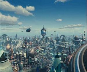 puzzel Robot City