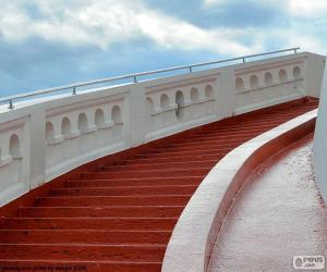 puzzel Rode trappen