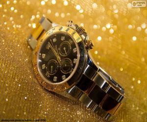 puzzel Rolex horloge